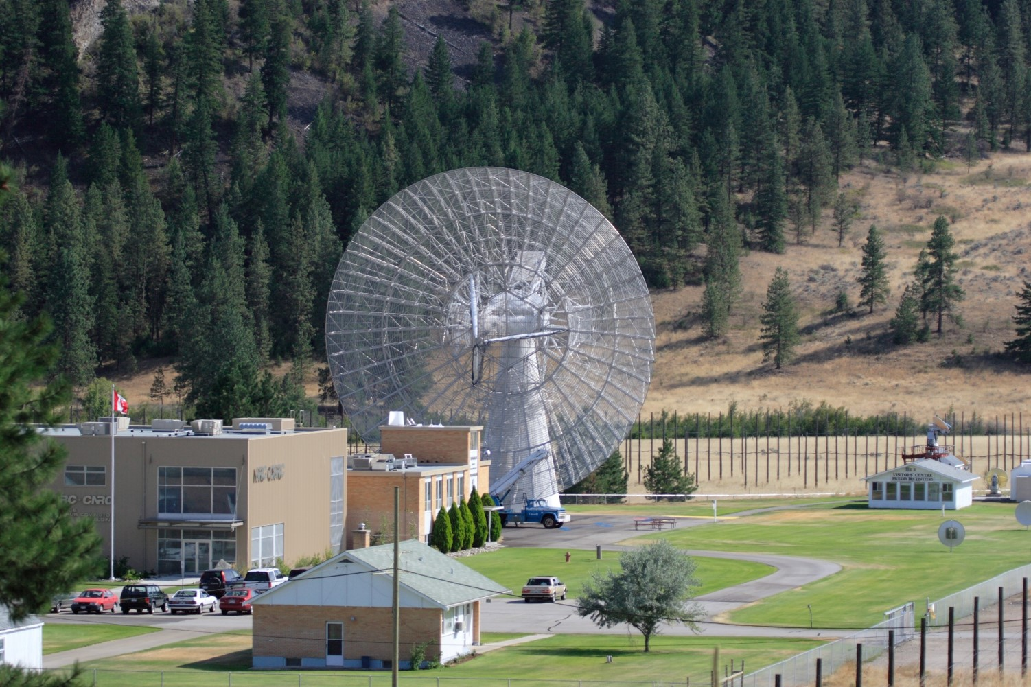 Dominion Radio Astrophysical Observatory (DRAO) Facility and John A. Galt (26m) Telescope