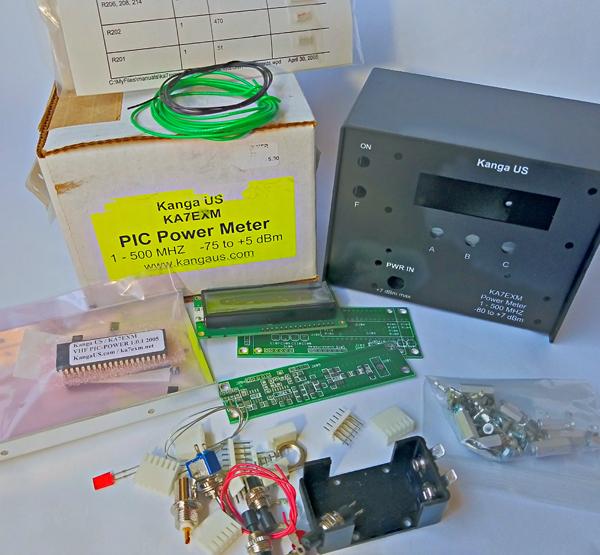 KA7EXM / Kanga PIC Power Meter Kit for sale, $150 obo