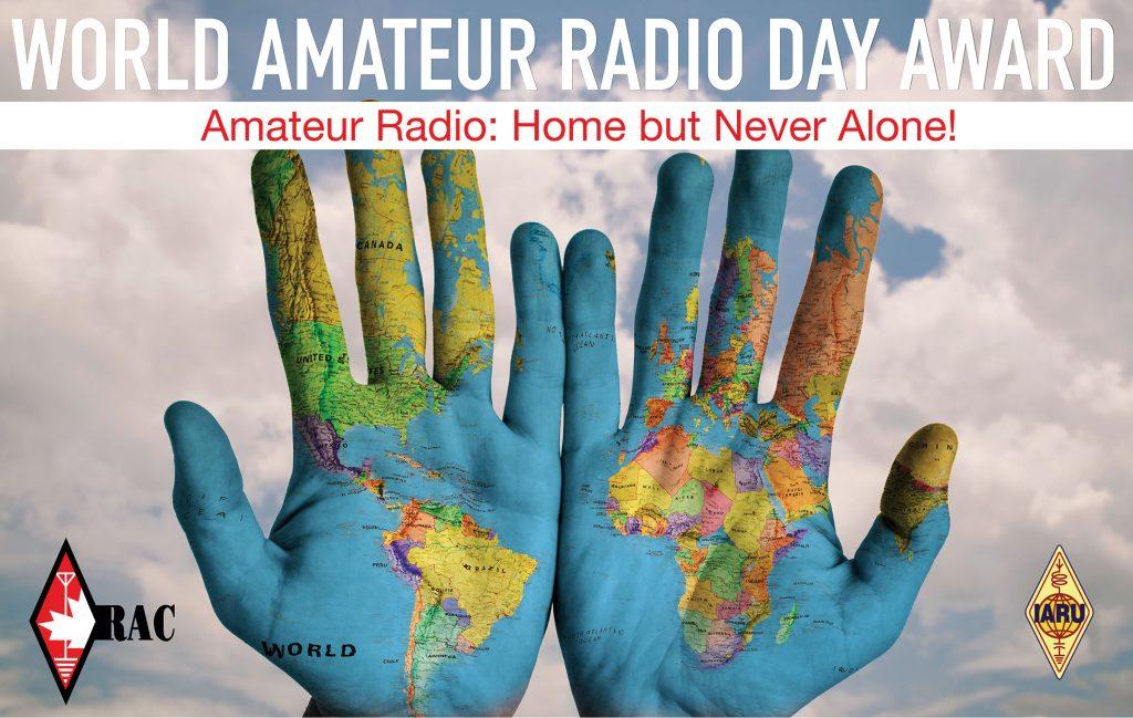 World Amateur Radio Day (WARD) 2021 is Sunday, April 18