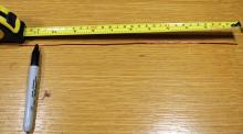 Measure twice, cut once!