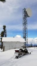 VE7IRN repeater building and tower