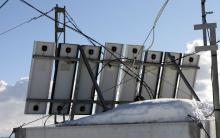 VE7LGN solar array (rear)