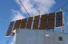 VE7LGN solar array (front)